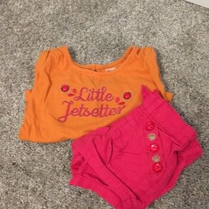 Gymboree Matching Top & Bottom